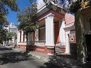 Centro Cultural de Ponce Carmen Solá de Pereira - Image: Centro Cultural de Ponce Carmen Solá de Pereira in Barrio Tercero, Ponce, Puerto Rico (DSC01933)