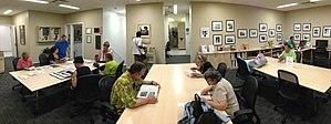 Centro de Estudios Puertorriqueños - The Centro Library at the Lois V. and Samuel J. Silberman Building in East Harlem.