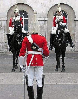 Life Guards (United Kingdom) - Image: Ceremony.lifeguard.l ondon.arp.new