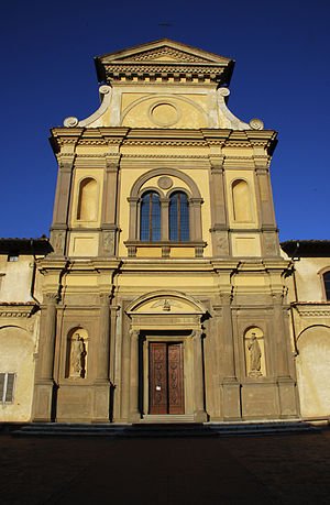 Galluzzo - Galluzzo: the church of San Lorenzo (inside Charterhouse).