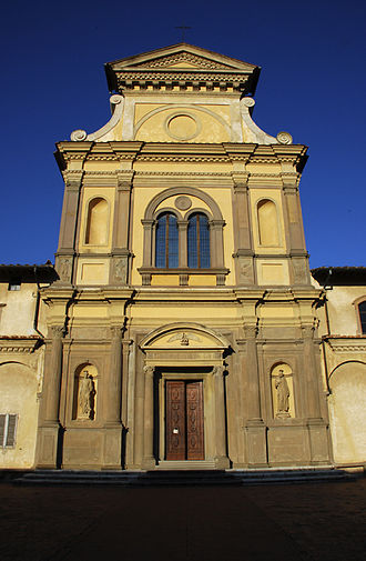 Galluzzo - Galluzzo: the church of San Lorenzo (inside Charterhouse).