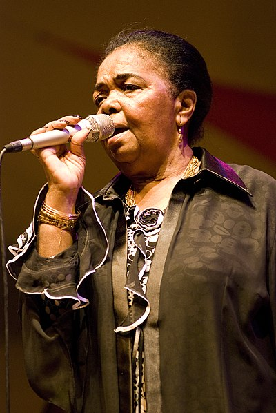 Picture of a band or musician: Cesária Évora