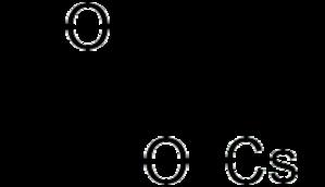 Caesium acetate - Image: Cesium acetate