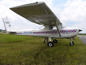 Cessna 152 - One of the first Cessna 152s produced, a 1978 model-year built in 1977.