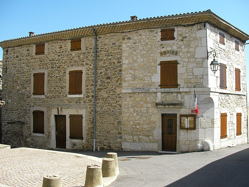 Town hall of Châteaubourg (Ardèche/France)