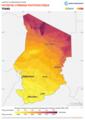 Chad PVOUT Photovoltaic-power-potential-map lang-FR GlobalSolarAtlas World-Bank-Esmap-Solargis.png