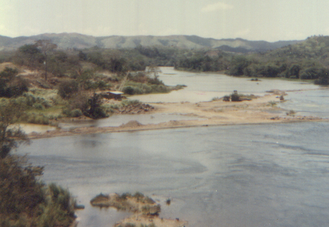 Chagres River - The Chagres River as seen from the highway between Panama City and Colon