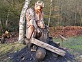 Chainsaw carving at Dean Heritage centre - geograph.org.uk - 1168978.jpg