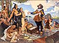 Champlain trading with the indians 1603.jpg
