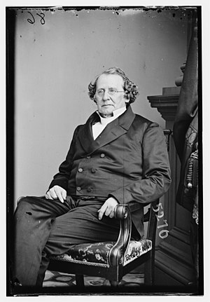 Portrait of Charles Hodge by the studio of Mat...