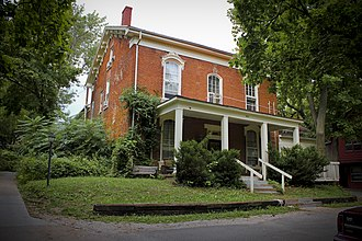 National Register of Historic Places listings in Johnson County, Iowa - Image: Charles Berryhill House