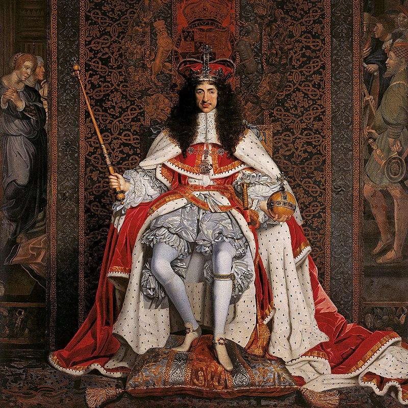 Charles II of England in Coronation robes.jpg