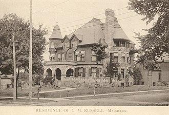 William G. Preston - Charles M. Russell house, 1890