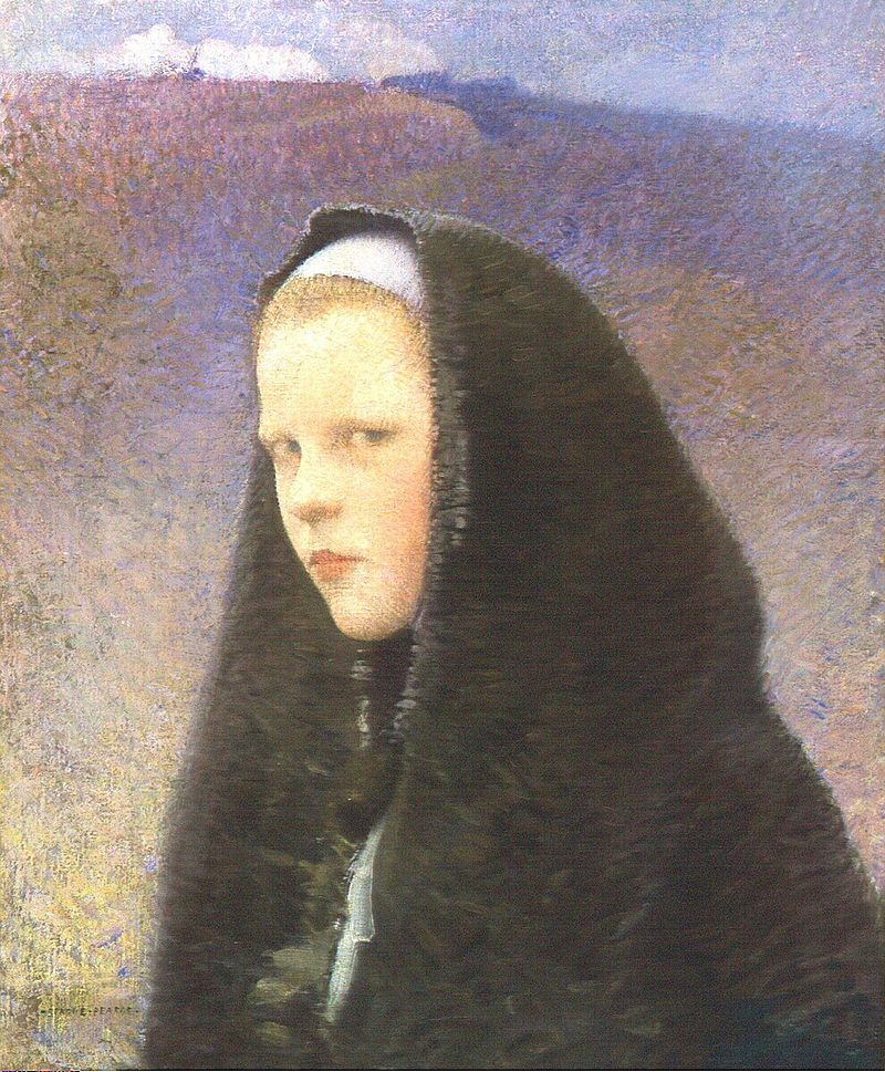 Charles Sprague Pearce - Young Brittany Girl.jpg