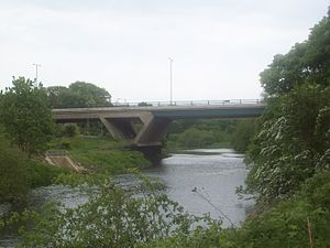 Chartershaugh Bridge - Image: Chartershaugh Bridge