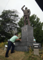 Chel Diokno in front of the Jose W. Diokno Memorial.png