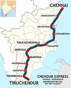 Chendur Express - Wikipedia