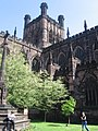 Chester Cathedral Tower. - geograph.org.uk - 802545.jpg