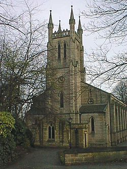 Holy Trinity Church, Chesterfield - Wikipedia, the free ...