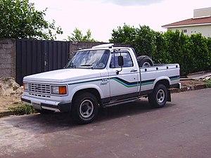 Chevrolet D-20 - Image: Chevrolet D201992Conquest