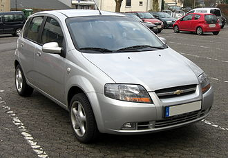 Chevrolet Sales India - The Daewoo Kalos is sold as the Chevrolet Aveo U-VA in India.