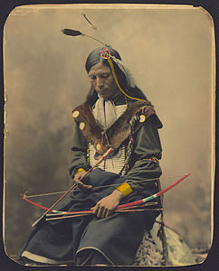 Chief Bone Necklace-Oglala Lakota-1899 Heyn Photo