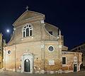 Chiesa di San Martino Vescovo Venezia notte 2.jpg