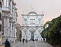 Chiesa di San Rocco facciata di sera.jpg