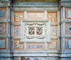 Chiesa di San Zaccaria dettaglio con putti facciata nord a Venezia.jpg