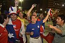 Chilean fans celebrate win over Spain 09.jpg