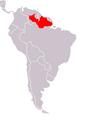 Chiropotes chiropotes map.png