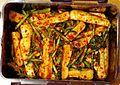 Chonggakkimchi (chonggak radish kimchi) 2.jpg
