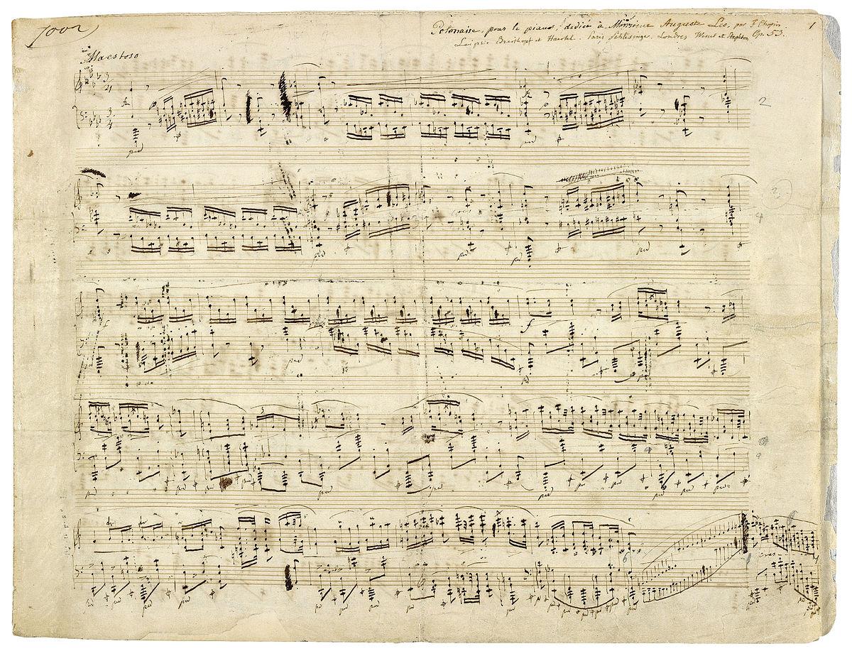 Polonaise As-Dur Op.53