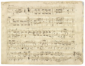 Polonaise in A-flat major, Op. 53 - Image: Chopin polonaise Op. 53