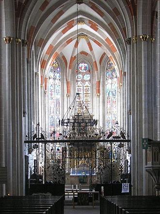 Divi Blasii - Image: Chor Blasiikirche Mühlhausen