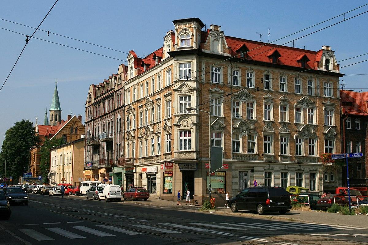Ulica 3 Maja W Chorzowie Wikipedia Wolna Encyklopedia