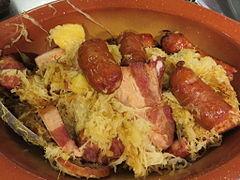 Choucroute d 39 alsace wikip dia - Alsace cuisine traditionnelle ...