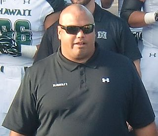 Chris Naeole All-American college football player, professional football player, offensive lineman