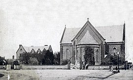 Christ Church and parsonage, North Adelaide SLSA - B 1942.jpg