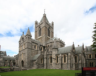 Sigtrygg Silkbeard - Christ Church Cathedral, founded by Sigtrygg c.1028
