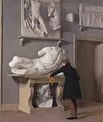 Christen Købke - The View of the Plaster Cast Collection at Charlottenborg Palace.jpg