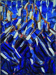 Abstraction (the Blue Mountain)
