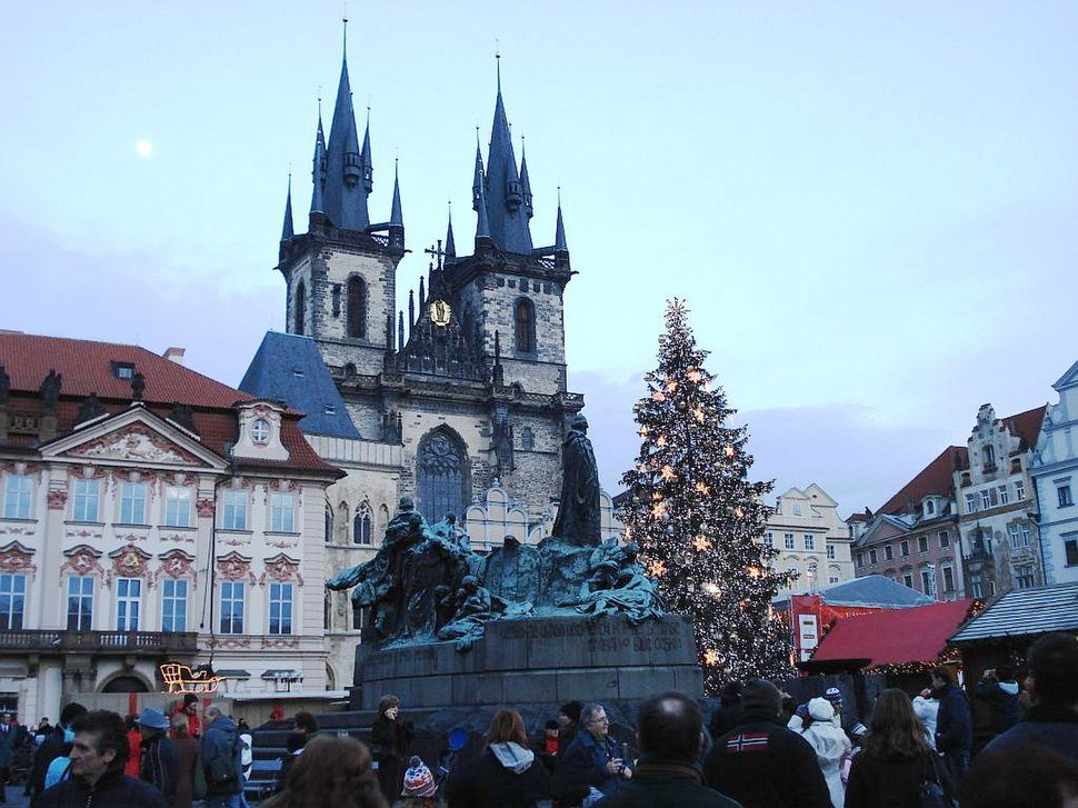 Christmas in Prague's Old Town Square