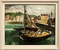 Christopher wood, una barca da pesca nel porto di dieppe, 1929.jpg
