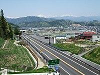 Chubu-Jukan Expressway.Takayama IC.mihakayama.JPG