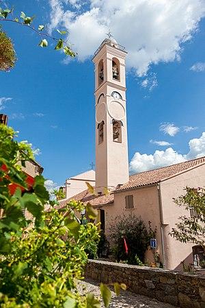 Corte, Haute-Corse - Image: Church Corte, Corsica