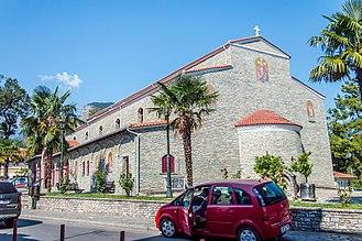 Litochoro - The church of Agios Nikolaos