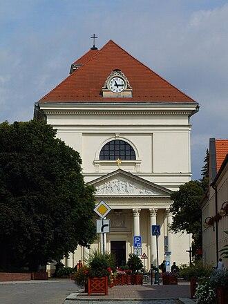 Slavkov u Brna - Image: Church in Austerlitz