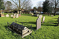 Church of St Mary Hatfield Broad Oak Essex England - churchyard at southeast.jpg