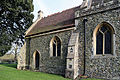Church of St Mary Matching Essex England - chancel north chapel from northwest.jpg